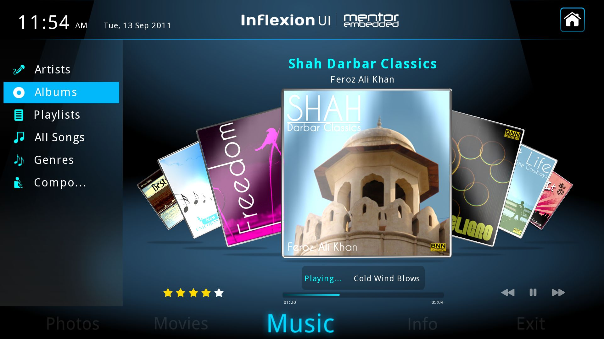 Inflexion UI Express