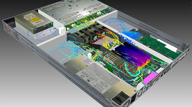 1U Server Thermal Analysis